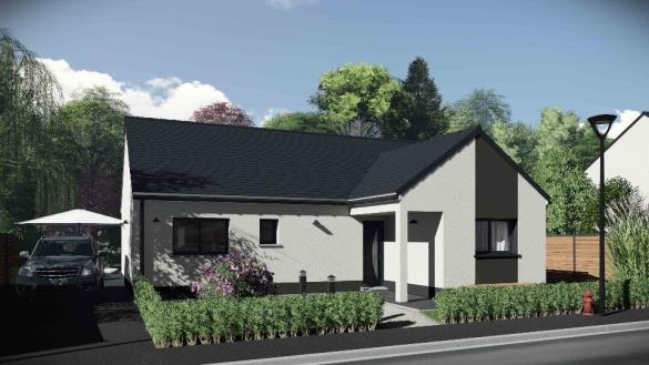 Maison+Terrain à vendre .(83 m²)(BREUILPONT) avec (MAISONS EXTRACO - Agence de GRAVIGNY)
