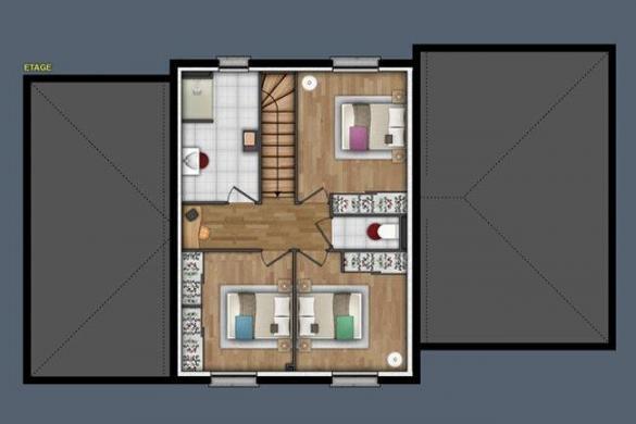 Maison+Terrain à vendre .(139 m²)(IVRY LA BATAILLE) avec (MAISONS EXTRACO - Agence de GRAVIGNY)