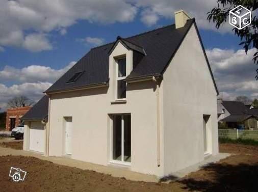 Maison+Terrain à vendre .(90 m²)(PONT SCORFF) avec (MAISONS LE MASSON)