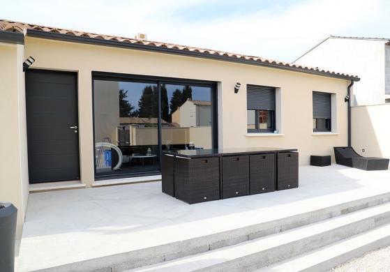 Maison+Terrain à vendre .(90 m²)(SERIGNAN DU COMTAT) avec (VILLADIRECT LE PONTET)