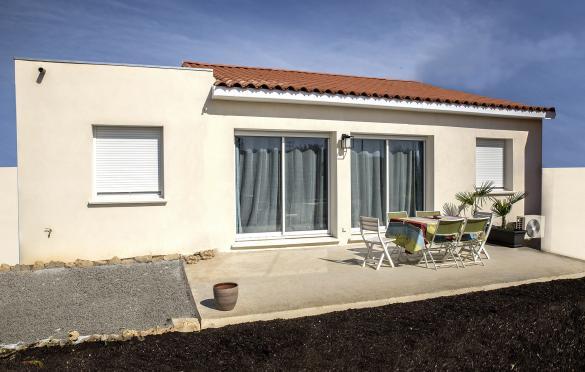 Maison+Terrain à vendre .(90 m²)(APT) avec (VILLADIRECT LE PONTET)