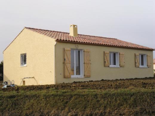 Maison+Terrain à vendre .(80 m²)(SAINT DIDIER) avec (AVENIR TRADITION)