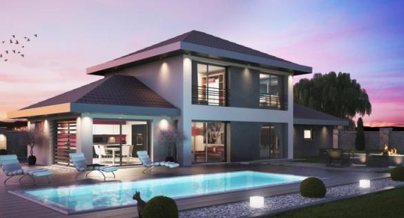 Maison+Terrain à vendre .(113 m²)(SEYNOD) avec (GENERALE IMMOBILIERE CONSEILS)
