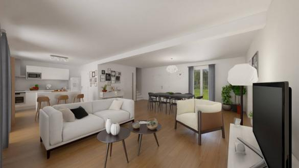 Maison+Terrain à vendre .(95 m²)(MONTBERON) avec (MAISONS FRANCE CONFORT)