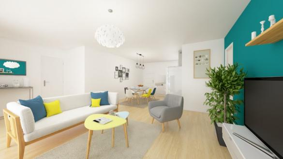 Maison+Terrain à vendre .(75 m²)(MERVILLE) avec (MAISONS FRANCE CONFORT)