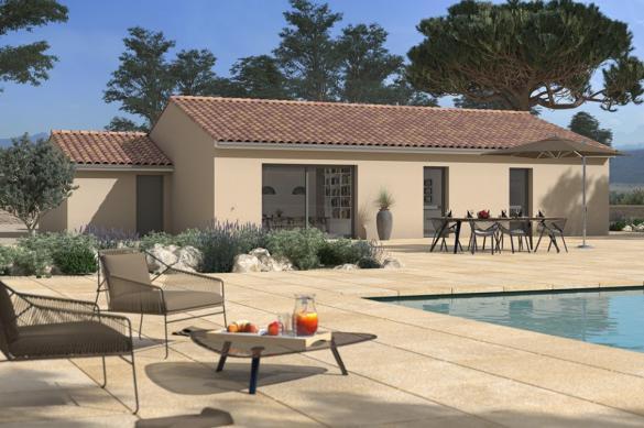 Maison+Terrain à vendre .(105 m²)(BRUGUIERES) avec (MAISONS FRANCE CONFORT)