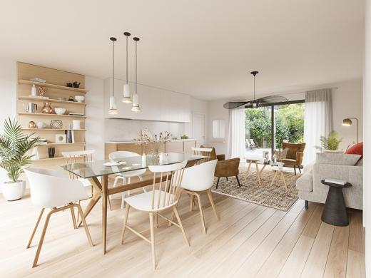 Maison+Terrain à vendre .(90 m²)(OISSEAU LE PETIT) avec (MAISONS FRANCE CONFORT)