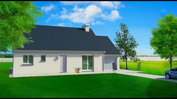 Maison à vendre .(78 m²)(SAINT MARS D'OUTILLE) avec (MAISONS LE MASSON)