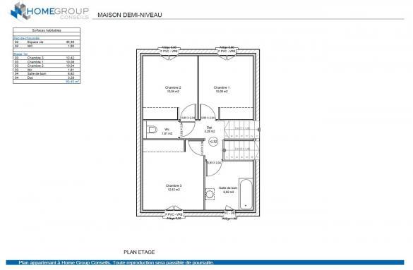 Maison à vendre .(90 m²)(ANDANCE) avec (HOME GROUP CONSEILS)