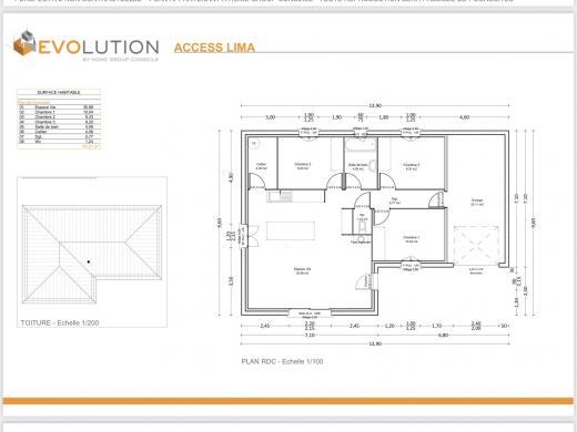 Maison à vendre .(80 m²)(LE PEAGE DE ROUSSILLON) avec (HOME GROUP CONSEILS)
