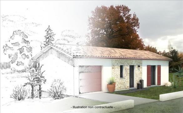 Maison+Terrain à vendre .(78 m²)(MONTPON MENESTEROL) avec (Bourse de l Immobilier Montpon Ménestérol)