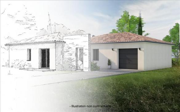 Maison+Terrain à vendre .(96 m²)(EYGURANDE ET GARDEDEUIL) avec (Bourse de l Immobilier Montpon Ménestérol)