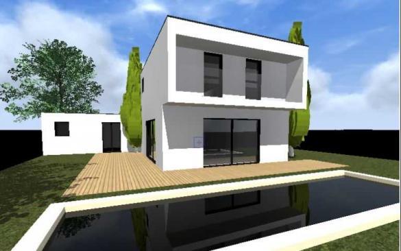 Maison+Terrain à vendre .(130 m²)(SAINT GENIS LAVAL) avec (MAISONS ALAIN METRAL)