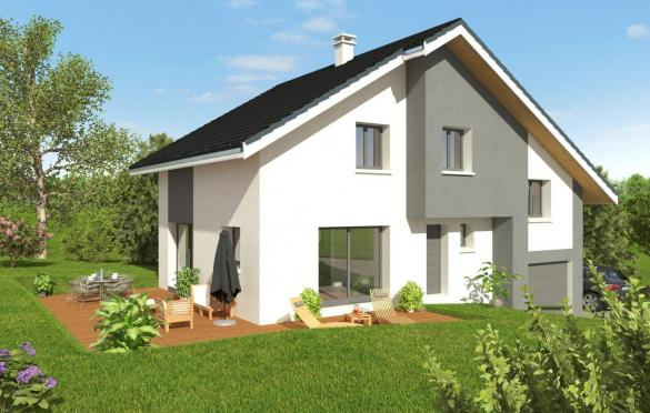 Maison+Terrain à vendre .(110 m²)(VINZIER) avec (MAISONS ALAIN METRAL)