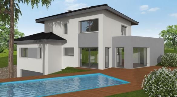 Maison+Terrain à vendre .(140 m²)(COLLONGES SOUS SALEVE) avec (MAISONS ALAIN METRAL)