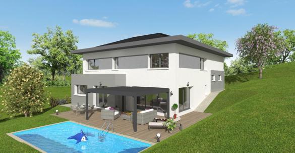 Maison+Terrain à vendre .(150 m²)(COLLONGES SOUS SALEVE) avec (MAISONS ALAIN METRAL)