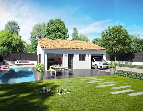 Maison+Terrain à vendre .(65 m²)(SAINT JEAN PLA DE CORTS) avec (MAISONS VERTES)