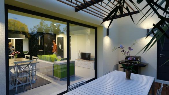 Maison+Terrain à vendre .(85 m²)(SAINTES) avec (MAISONS ARLOGIS ROCHEFORT)
