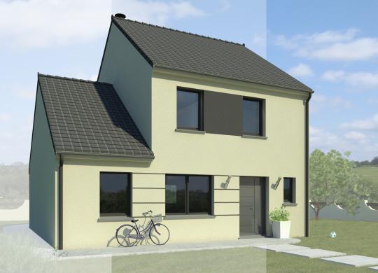 Maison+Terrain à vendre .(113 m²)(SAINT FIACRE) avec (MAISON FAMILIALE MAREUIL LES MEAUX)