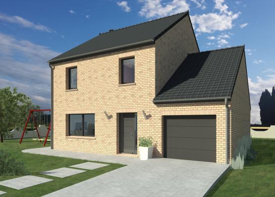 Maison+Terrain à vendre .(118 m²)(MOUROUX) avec (MAISON FAMILIALE MAREUIL LES MEAUX)