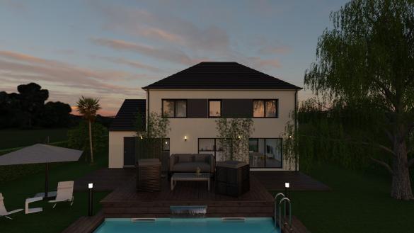 Maison+Terrain à vendre .(110 m²)(NANTEUIL LES MEAUX) avec (MAISON FAMILIALE MAREUIL LES MEAUX)