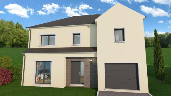 Maison+Terrain à vendre .(105 m²)(NANTEUIL LES MEAUX) avec (MAISON FAMILIALE MAREUIL LES MEAUX)