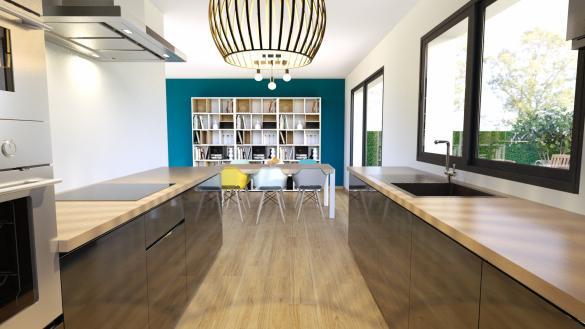 Maison+Terrain à vendre .(87 m²)(NEMOURS) avec (MAISON FAMILIALE MAREUIL LES MEAUX)