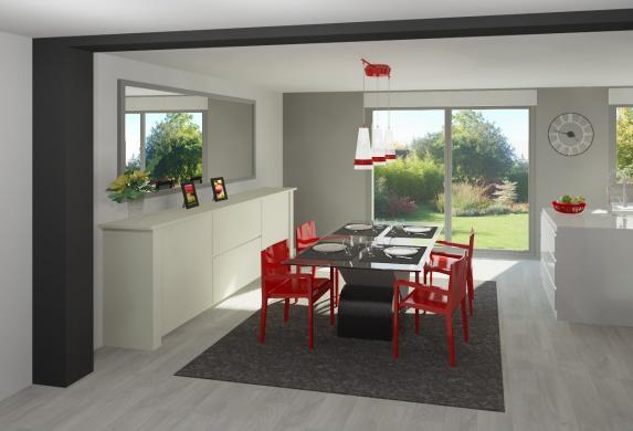 Maison+Terrain à vendre .(130 m²)(CHATEAU THIERRY) avec (MAISON FAMILIALE MAREUIL LES MEAUX)