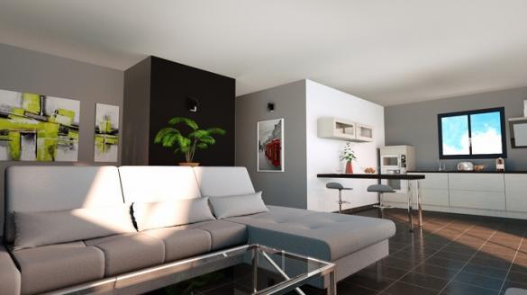 Maison à vendre .(108 m²)(VIF) avec (MODULHABITAT)