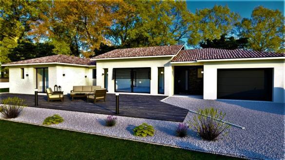 Maison+Terrain à vendre .(114 m²)(FEURS) avec (DEMEURES CALADOISES)