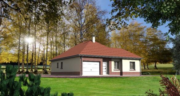 Maison+Terrain à vendre .(90 m²)(PONT REMY) avec (MAISONS LES NATURELLES)