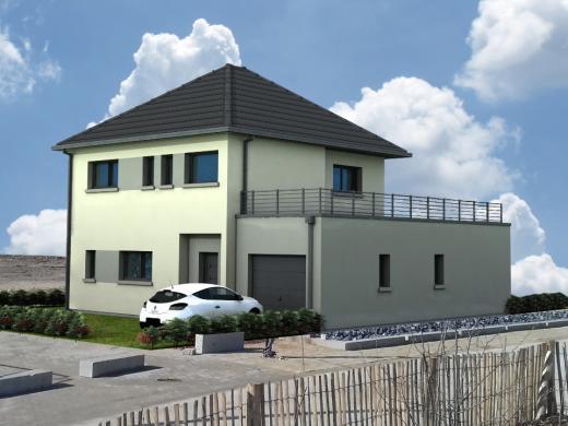 Maison+Terrain à vendre .(130 m²)(PONT REMY) avec (MAISONS LES NATURELLES)