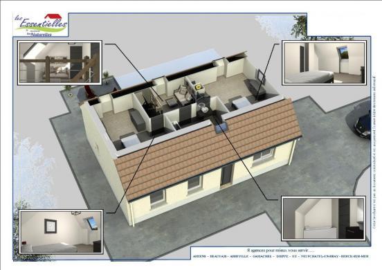 Maison+Terrain à vendre .(107 m²)(PONT REMY) avec (MAISONS LES NATURELLES)