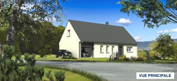 Maison+Terrain à vendre .(117 m²)(YONVAL) avec (MAISONS LES NATURELLES)