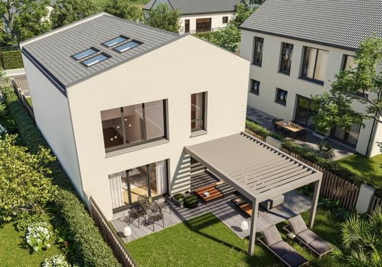 Maison+Terrain à vendre .(105 m²)(REIMS) avec (MAISONS FRANCE CONFORT)