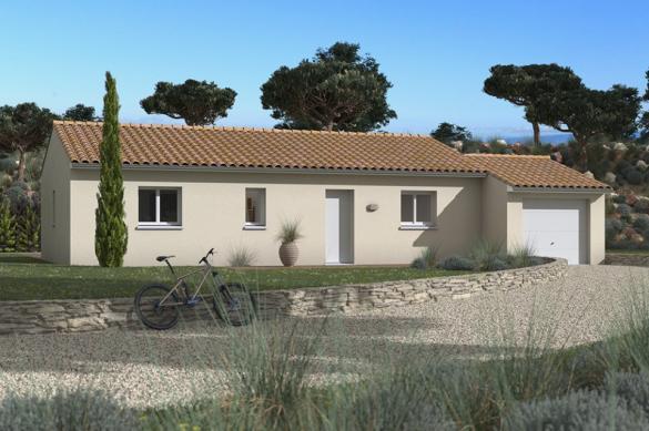 Maison+Terrain à vendre .(73 m²)(SAUZET) avec (MAISONS FRANCE CONFORT)