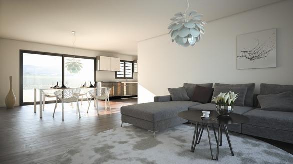 Maison à vendre .(100 m²)(LE POUGET) avec (LES MAISONS DE MANON)