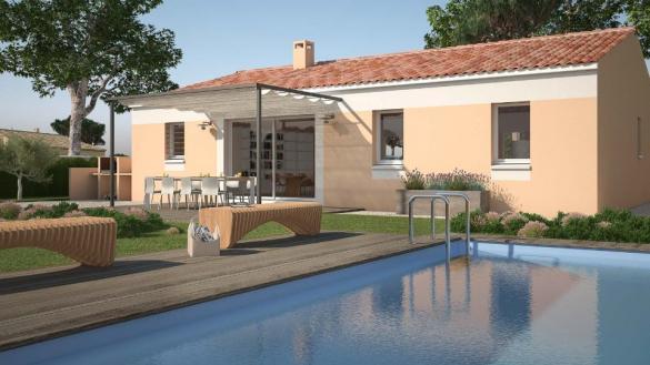 Maison à vendre .(76 m²)(LAGAMAS) avec (LES MAISONS DE MANON)