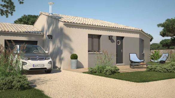 Maison+Terrain à vendre .(90 m²)(SAINT ANDRE DE SANGONIS) avec (LES MAISONS DE MANON)