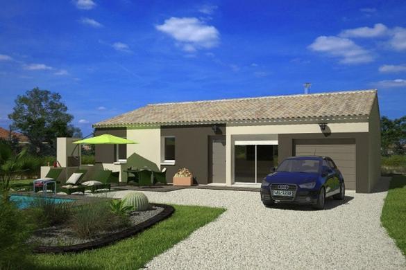 Maison+Terrain à vendre .(76 m²)(CANET) avec (LES MAISONS DE MANON)