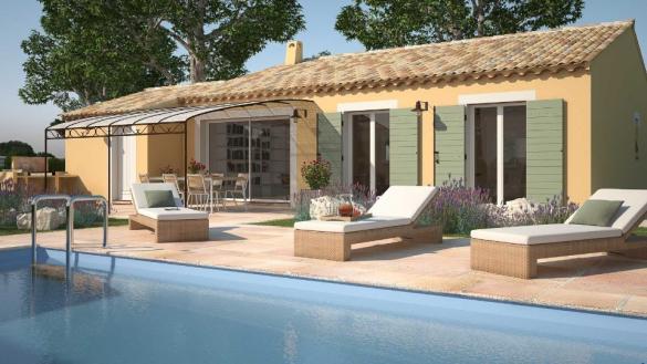 Maison+Terrain à vendre .(60 m²)(MONTPEYROUX) avec (LES MAISONS DE MANON)