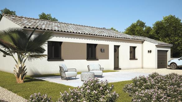Maison+Terrain à vendre .(80 m²)(FONTES) avec (LES MAISONS DE MANON)