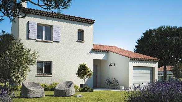 Maison+Terrain à vendre .(95 m²)(LE POUGET) avec (LES MAISONS DE MANON)