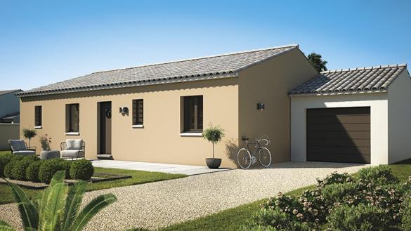 Maison+Terrain à vendre .(80 m²)(SAINT JEAN DE FOS) avec (LES MAISONS DE MANON)