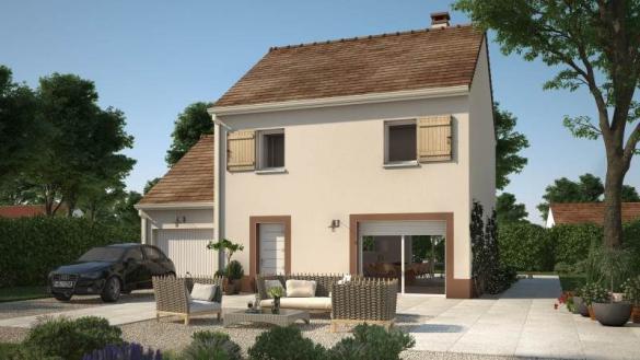 Maison+Terrain à vendre .(74 m²)(LE PLESSIS BELLEVILLE) avec (Maisons France Confort)