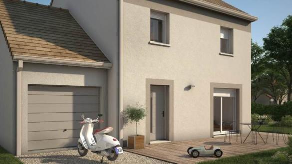 Maison+Terrain à vendre .(74 m²)(NANGIS) avec (Maisons France Confort)