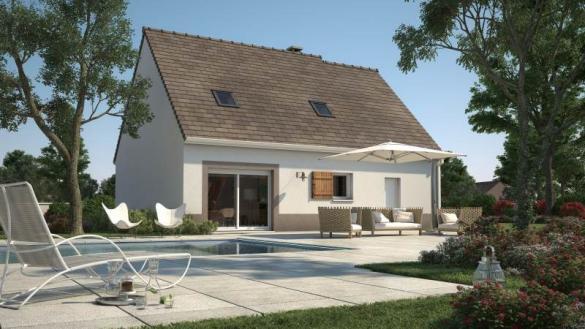 Maison+Terrain à vendre .(89 m²)(SAINT CHERON) avec (Maisons France Confort)