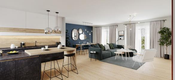 Maison+Terrain à vendre .(140 m²)(ECOMMOY) avec (Maisons France Confort-maisons-france-confort)
