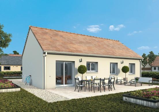 Maison+Terrain à vendre .(105 m²)(MERE) avec (MAISONS FRANCE CONFORT)