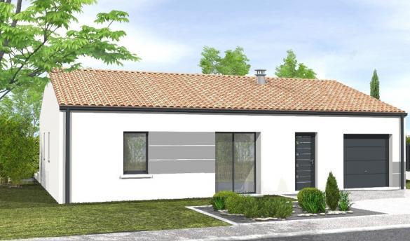 Maison+Terrain à vendre .(70 m²)(CHALLANS) avec (LMP CONSTRUCTEUR)